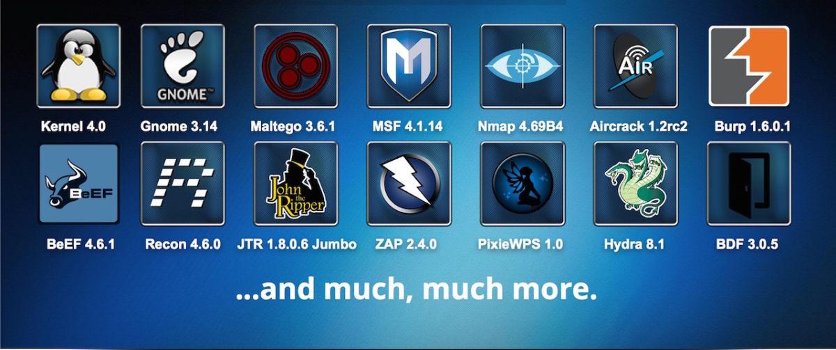 Kali linux 20 - Kali Linux passe la seconde