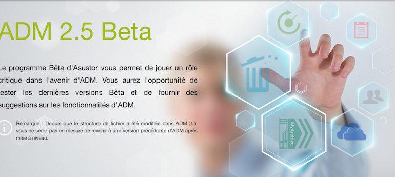 asustor adm 25 770x345 - NAS – ASUSTOR ADM 2.5 Beta débarque...