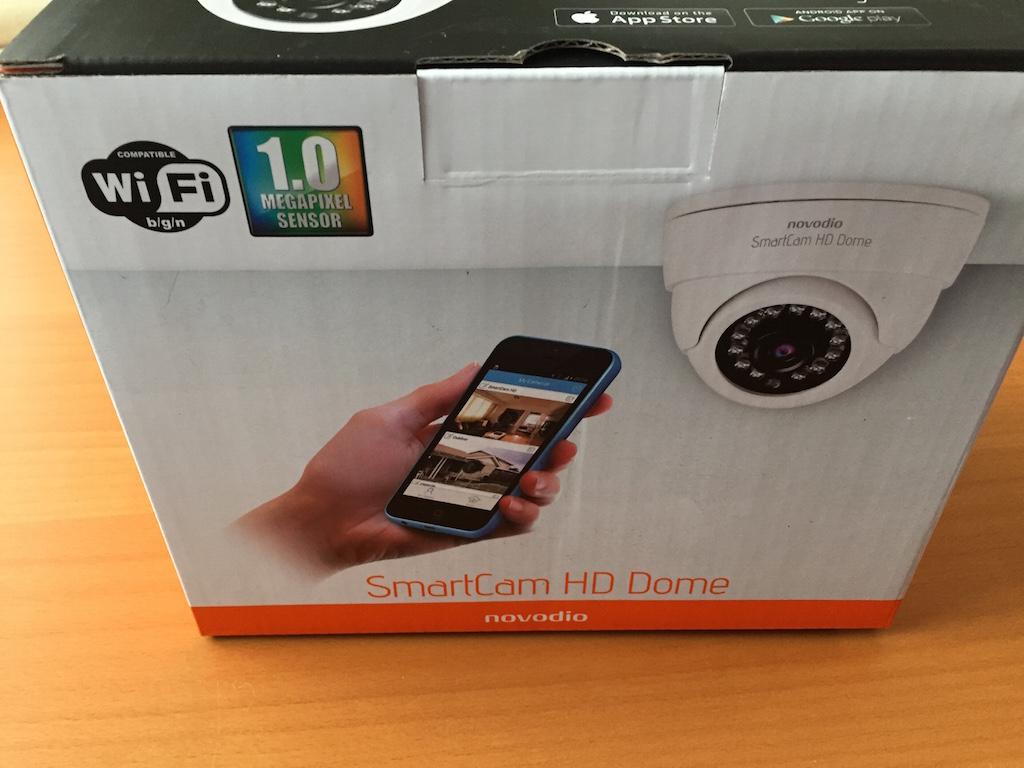 boite novodio smartcam hd - Test de la caméra IP Novodio SmartCam HD Dome
