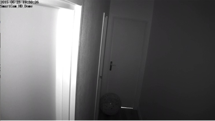 vision nocturne - Test de la caméra IP Novodio SmartCam HD Dome