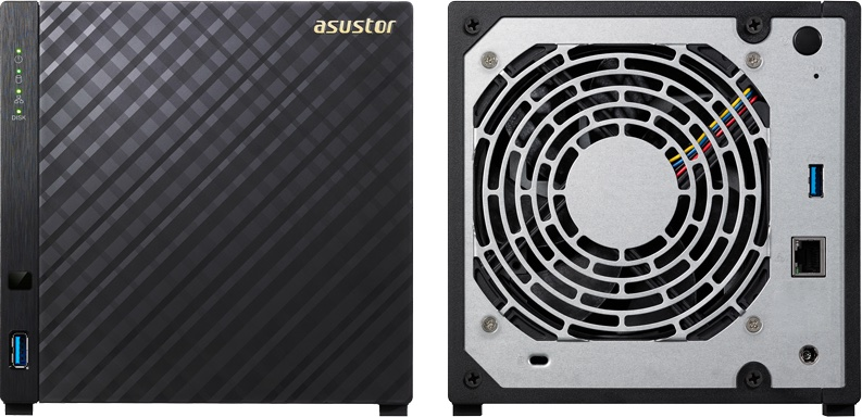 ASUSTOR AS1004T - ASUSTOR officialise 2 nouveaux NAS AS1002T et AS1004T