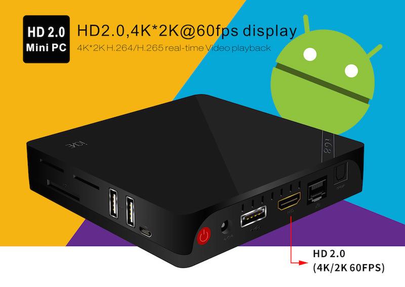 Beelink i68 - Beelink i68 - Android Kodi Media Center 4K