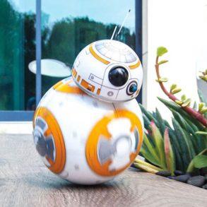 Star Wars rolling droid BB 8 293x293 - Le BB-8 de Star Wars 7 devient réel à travers un jouet