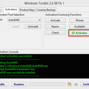 WT EZ Activator 293x293 - Windows 8 et Windows 10... forcer l'activation