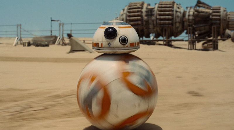 bb 8 star wars episode 7 - Le BB-8 de Star Wars 7 devient réel à travers un jouet