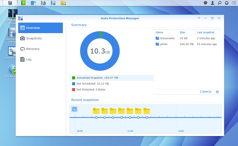 synology data protection manager - NAS - Synology DSM 6.0, DS716+, RT1900ac, applications...
