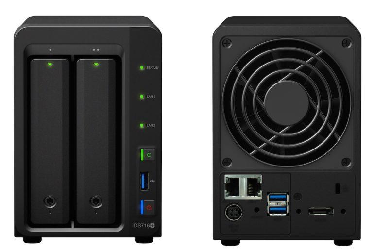 synology ds716plus 770x513 - Synology - Le NAS DS716+ et le routeur RT1900ac débarquent...