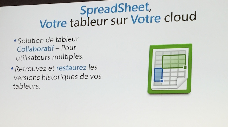 tableur synology - Conférence Synology 2016 : DSM 6.0 et des applications...