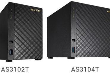 ASUSTOR AS3102T AS3104T 370x247 - ASUSTOR lance 2 nouveaux NAS surpuissants : AS3102T et AS3104T