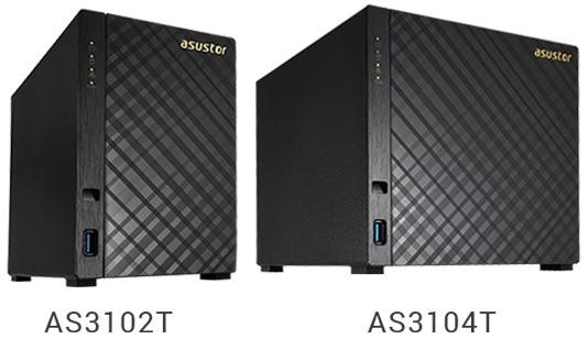 ASUSTOR AS3102T AS3104T - ASUSTOR lance 2 nouveaux NAS surpuissants : AS3102T et AS3104T