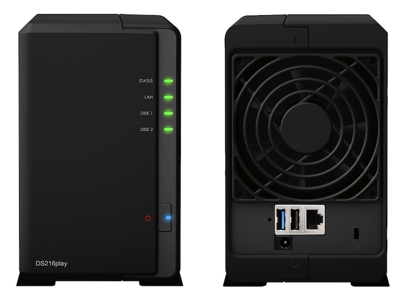 Synology DS216play - NAS - Synology DS216se, DS216play et DS416 débarquent