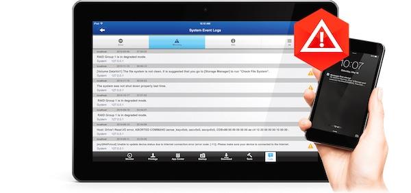 notifications - NAS – QNAP QTS 4.2 est disponible pour tous...