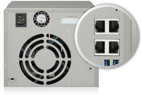 TS 531P 4 gigabit - QNAP annonce l'arrivée prochaine du TS-531P