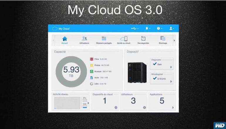 WD My Cloud OS 3 770x441 - Vidéo - My Cloud OS 3.0