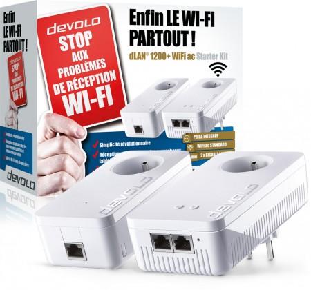 devolo dLAN 1200 WiFi ac - Test pack CPL Devolo dLAN 1200+ WiFi ac