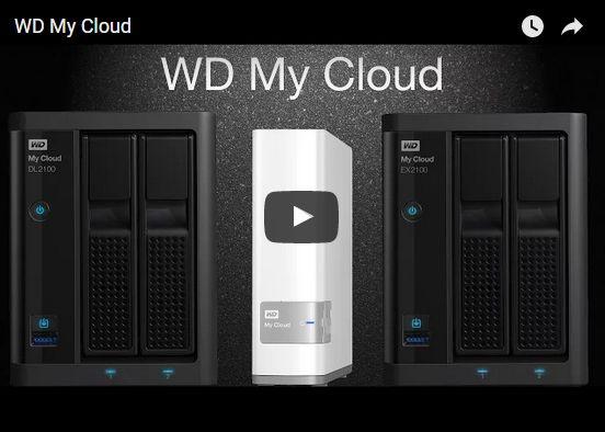 video youtube wd my cloud - Vidéo - WD My Cloud