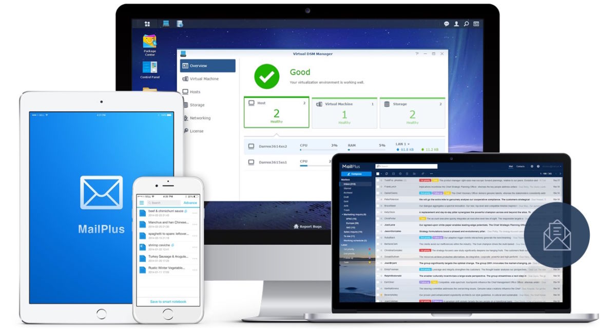 DSM 60 - Synology DSM 6.0 Beta 2 est disponible