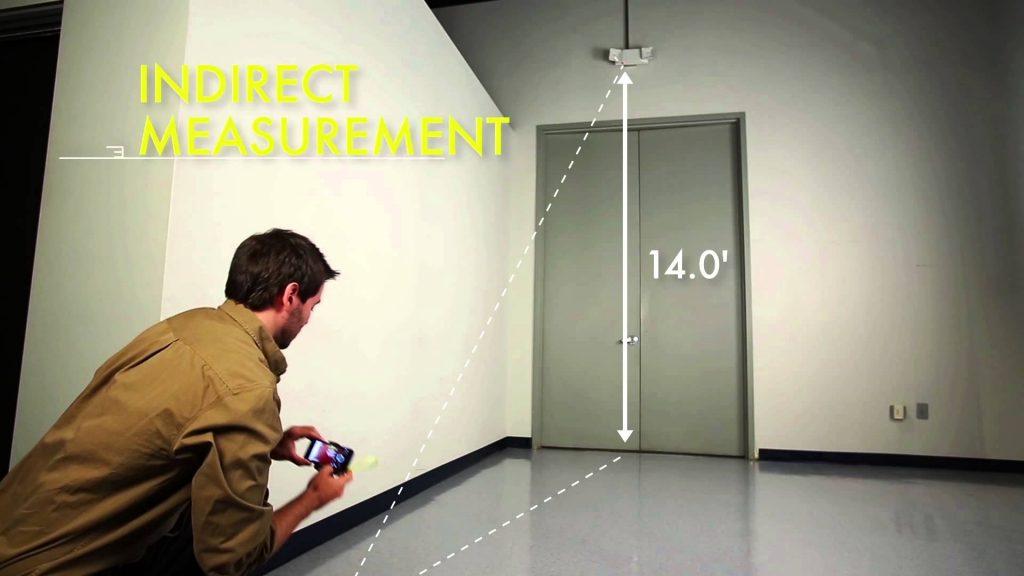 indirectmesurement 1024x576 - RYOBI Phone Works ! Des outils de précision 2.0