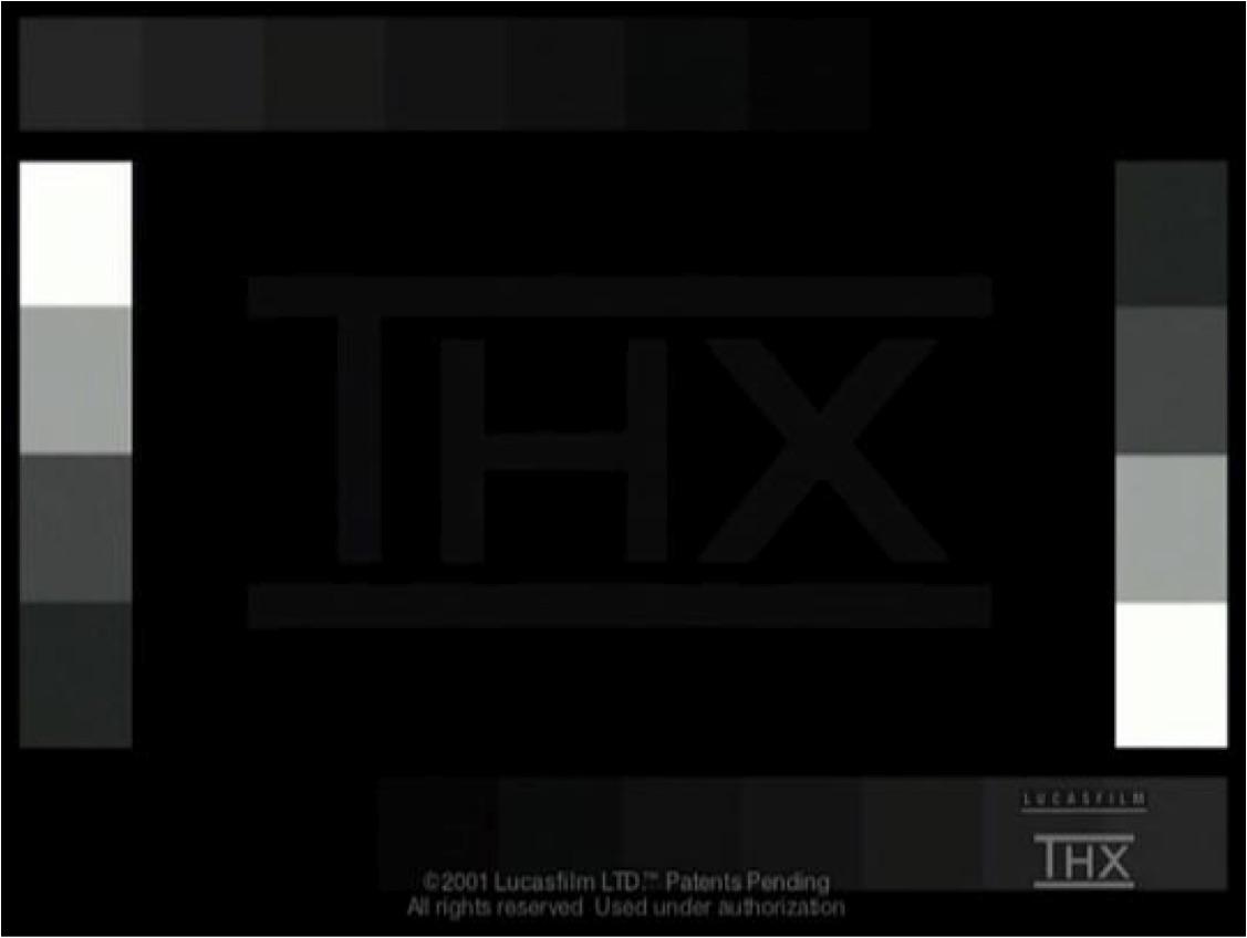 mire THX - Calibration, calibrage et étalonnage...
