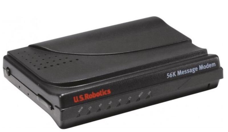 US robotics 56k - Rétrospective: Internet coaxiale de l'Analogique à l'ADSL