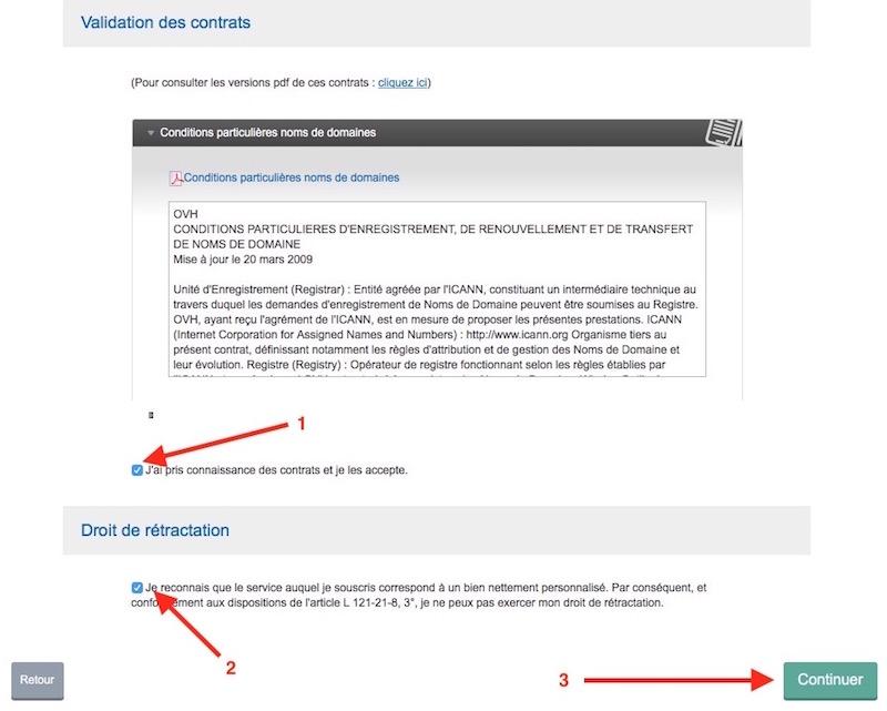achat domaine 12 contrat - Auto-hébergement : Créer son nom de domaine