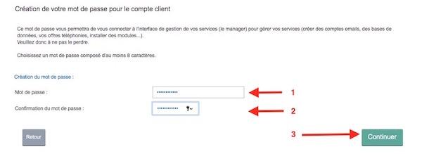 achat domaine 7 mot de passe - Auto-hébergement : Créer son nom de domaine