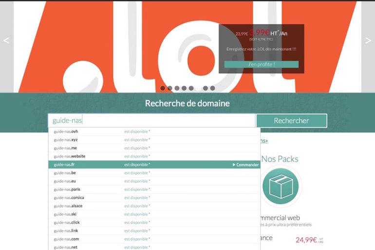 achat domaine choix 770x513 - Auto-hébergement : Créer son nom de domaine