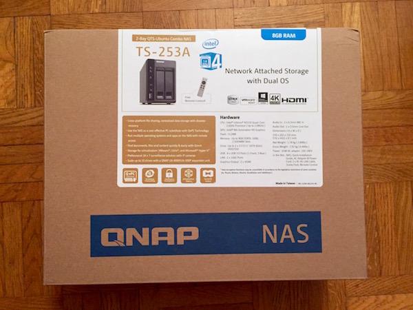 boite qnap ts 253A - NAS - Test du QNAP TS-253A