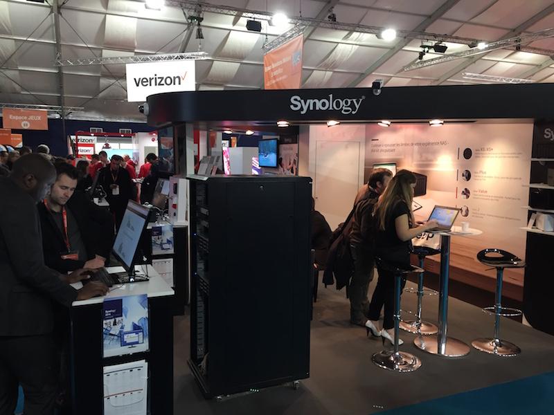 stand synology it partners - Mon petit tour à l'IT Partners