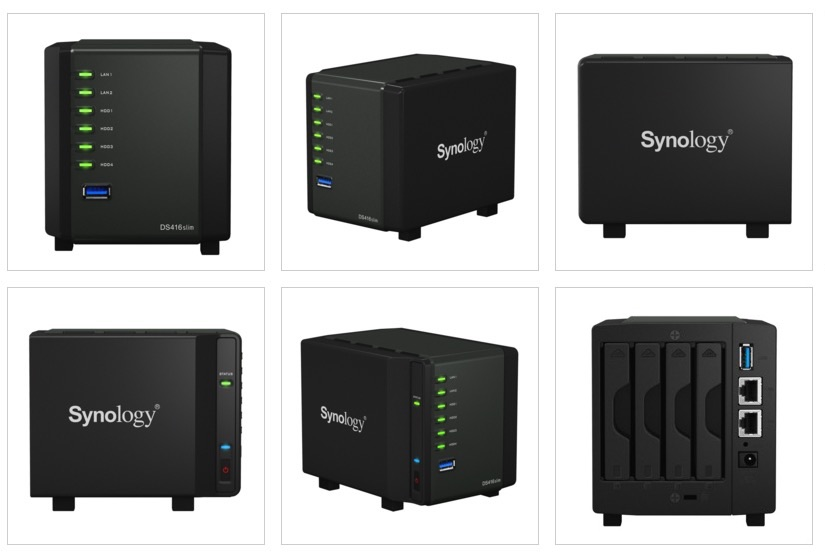 synology ds416slim photos - NAS - Synology lance le DS416slim
