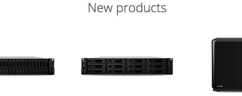 synology new products 770x308 - Synology au Cebit 2016
