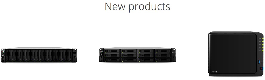 synology new products - Synology au Cebit 2016