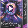 PowerDVD 16 Ultra 100x100 - PowerDVD 16 : Mode TV, audio DSD, MVC 3D, ChromeCast / Apple TV / Roku
