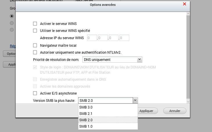 QNAP4.2.0 SMB - Faille dans le protocole SMB : BadLock