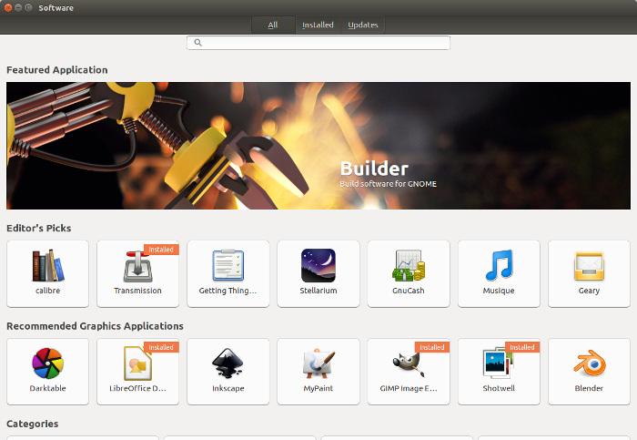 XX Gnome Software 16 04 - Ubuntu 16.04 LTS est arrivé !