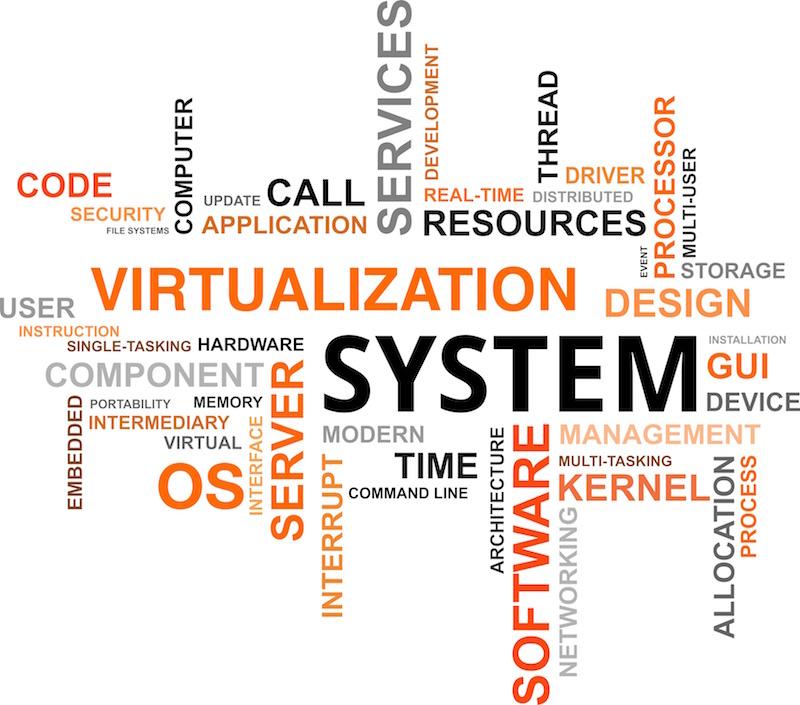 nuage virtualization cloud word - MicroServer GEN8 : Cas pratique part1 - Description d'un projet de Virtualisation