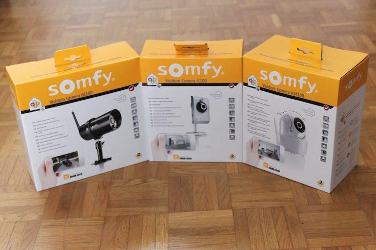 somfy visidom cameras.jpg 770x512 - Test caméras SOMFY Visidom IC100, ICM100 et OC100