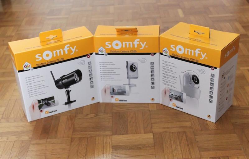 somfy visidom cameras.jpg - Test caméras SOMFY Visidom IC100, ICM100 et OC100
