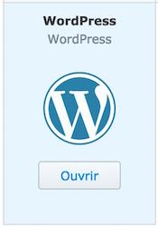 ouvrir wordpress synology - Auto-hébergement : Monter un site web en 10 minutes avec un NAS