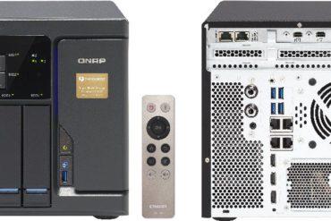 qnap tvs 682T 370x247 - NAS - QNAP va lancer la gamme TVS-x82T : Intel Core i3 et i5, DDR4, HDMI 2.0, Thunderbolt 2, 10GbE, M.2, SSD, HDD...