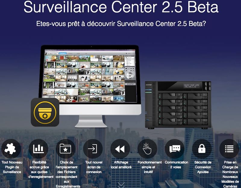surveillance center 25 - NAS - ASUSTOR Surveillance Center 2.5 Beta