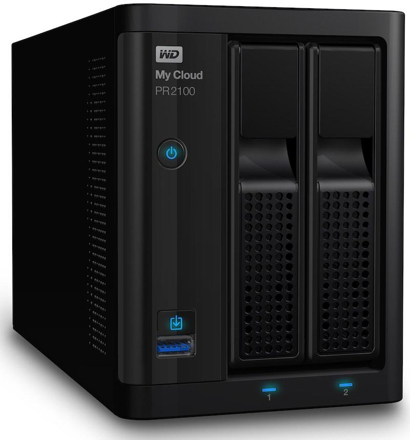 WD My Cloud PR2100 - WD annonce 2 nouveaux NAS PR2100 et PR4100