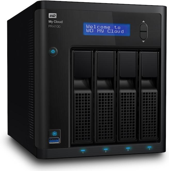 WD My Cloud PR4100 - WD annonce 2 nouveaux NAS PR2100 et PR4100