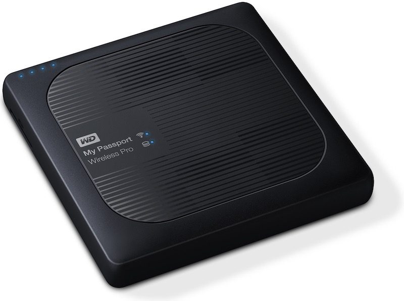 WD My Passport Wireless Pro - WD lance son nouveau My Passport Wireless Pro