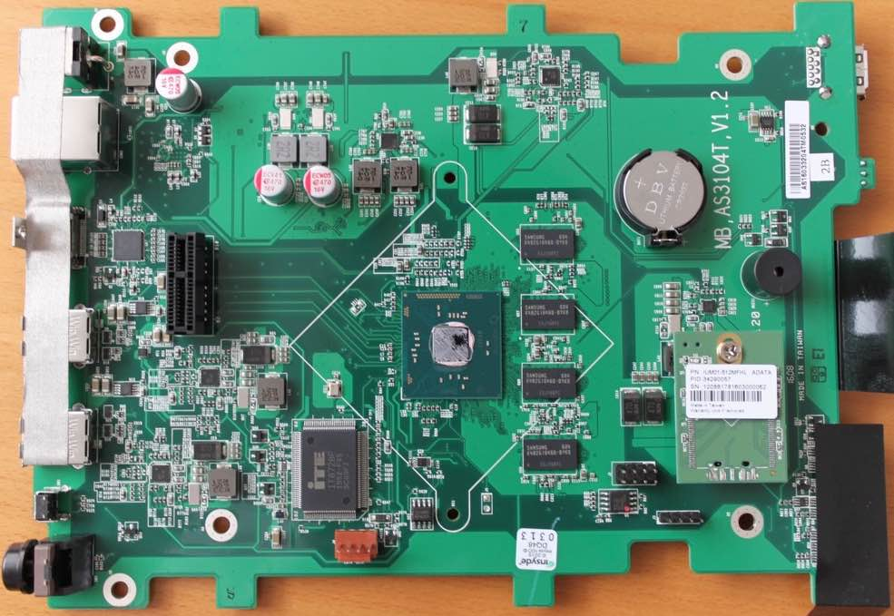 as3204T SoC - Test du NAS ASUSTOR AS3204T
