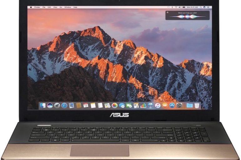 macOS pc asus 770x513 - Installer macOS X 10.12 sur PC