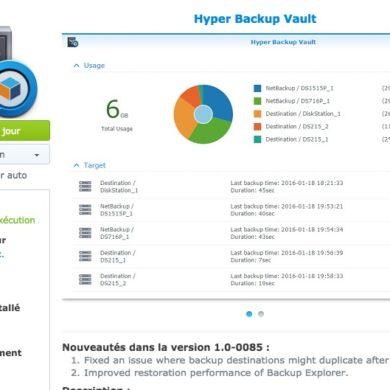 vault synology 390x390 - NAS - Synology DSM 6.0.1 et mise à jour d'applications