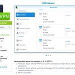 vpn server synology 150x150 - NAS - Synology DSM 6.0.1 et mise à jour d'applications
