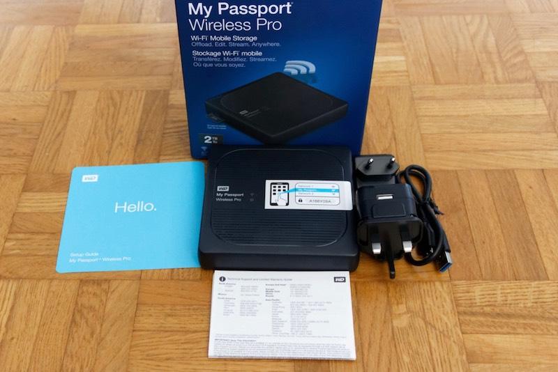 WD my passport wireless pro - Test du WD My Passport Wireless Pro