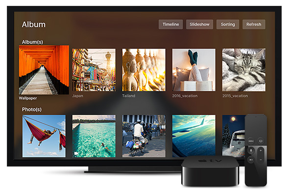 apple synology - Synology et Apple TV 4